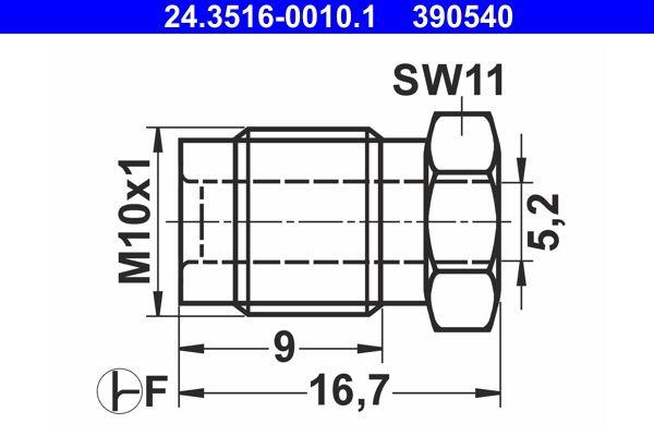 24.3516-0010.1 Wartelmoer ATE - Goedkope merkproducten
