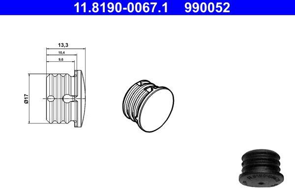 11.8190-0067.1 Tapones de obturación / protección ATE - Experiencia en precios reducidos