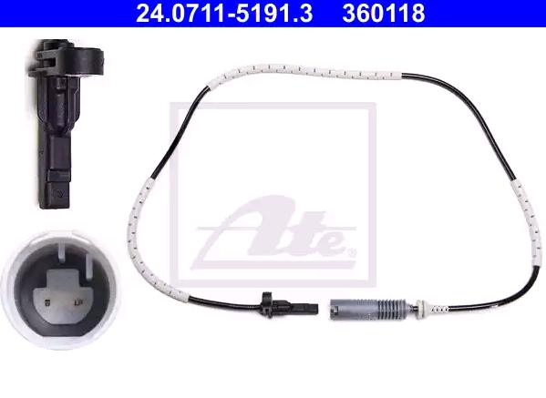 24071151913 ABS Sensor ATE 24.0711-5191.3 - Huge selection — heavily reduced