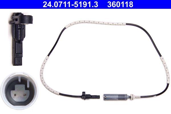 Sensor, wheel speed 24.0711-5191.3 from ATE