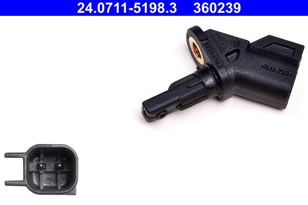 24.0711-5198.3 ABS Sensor ATE original quality