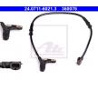 Original Hjulupphängning och armar 24.0711-6021.3 Mercedes