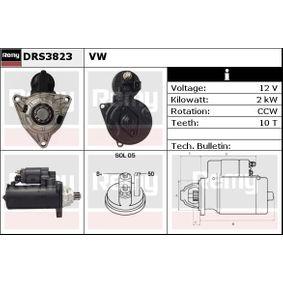 HELLA 8EA 011 611-051 Starter Rated Power: 2kW Number of Teeth 10 Voltage: 12V