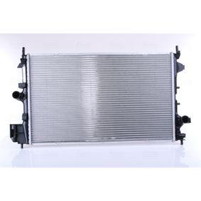 61914A NISSENS ohne Rahmen, Kühlrippen gelötet, Aluminium Kühler, Motorkühlung 61914A günstig kaufen