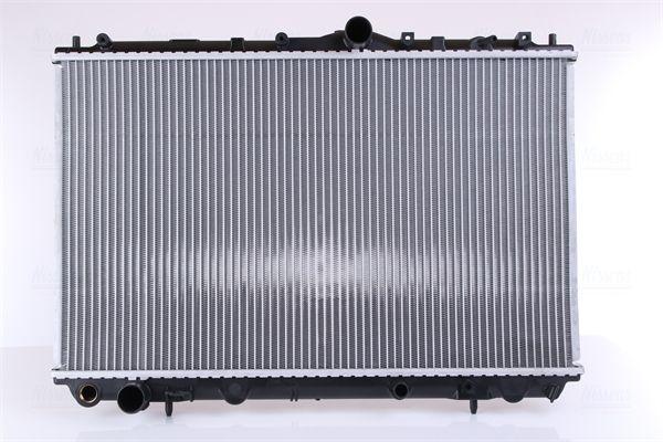 62858A NISSENS ohne Rahmen, Kühlrippen gelötet, Aluminium Kühler, Motorkühlung 62858A günstig kaufen