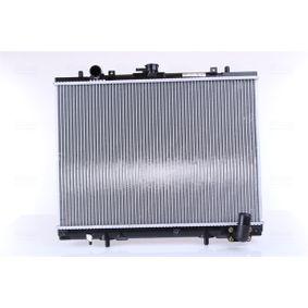 62892 NISSENS ohne Rahmen, Kühlrippen gelötet, Aluminium Kühler, Motorkühlung 62892 günstig kaufen