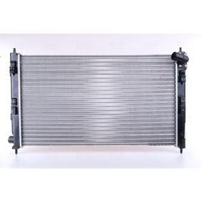 628952 NISSENS ohne Rahmen, Kühlrippen mechanisch gefügt, Aluminium Kühler, Motorkühlung 628952 günstig kaufen