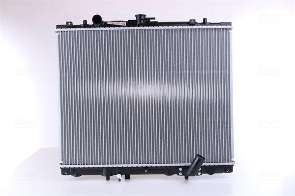 62895A NISSENS ohne Rahmen, Kühlrippen gelötet, Aluminium Kühler, Motorkühlung 62895A günstig kaufen