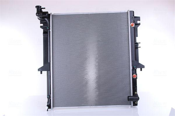 62896 NISSENS ohne Rahmen, Kühlrippen gelötet, Aluminium Kühler, Motorkühlung 62896 günstig kaufen