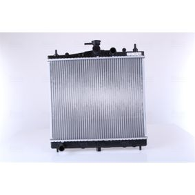 62902A NISSENS ohne Rahmen, Kühlrippen gelötet, Aluminium Kühler, Motorkühlung 62902A günstig kaufen