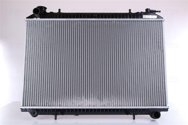 62908A NISSENS ohne Rahmen, Kühlrippen gelötet, Aluminium Kühler, Motorkühlung 62908A günstig kaufen