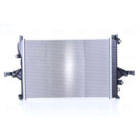 Motorkühlung NISSENS 65557A Kühler