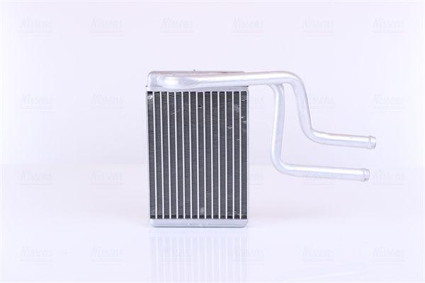 NISSENS: Original Innenraum-Wärmetauscher 71744 (Aluminium, Kühlrippen gelötet, Aluminium)