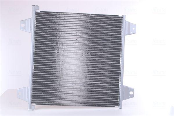 NISSENS Kondensor, klimatanläggning till DAF - artikelnummer: 940031