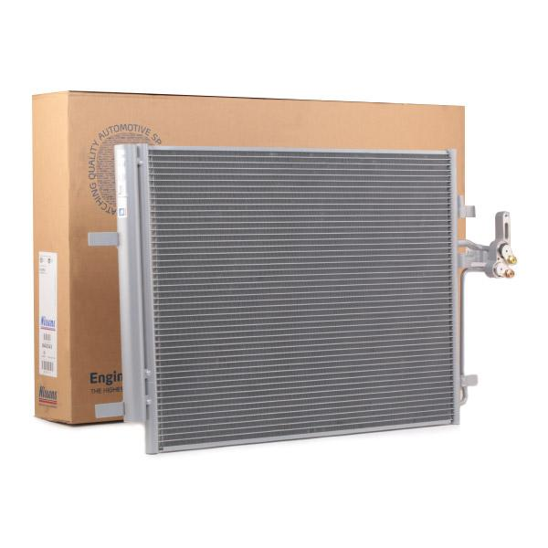 NISSENS: Original Kondensator Klimaanlage 940043 (Netzmaße: 617 x 462 x 16 mm)