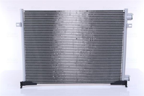 RENAULT TRAFIC 2014 Klimakühler - Original NISSENS 940109 Netzmaße: 610 x 435 x 16 mm