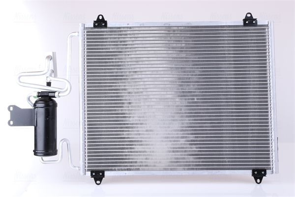 RENAULT SAFRANE 1994 Kondensator Klimaanlage - Original NISSENS 94440 Netzmaße: 568 x 415 x 16 mm
