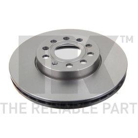 2 St Bremsscheibe Bremsanlage Vorderachse MAPCO  25830C