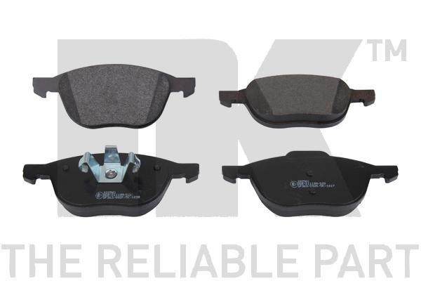 NK Brake Pad Set, disc brake 222561