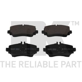 WVA23070 NK für Verschleißwarnanzeiger vorbereitet, mit Anti-Quietsch-Blech, mit Zubehör Höhe 1: 57,30mm, Breite 1: 116,50mm, Dicke/Stärke 1: 15,70mm Bremsbelagsatz, Scheibenbremse 223333 günstig kaufen