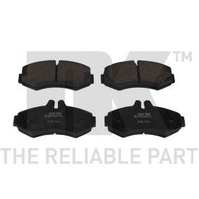 WVA23022208 NK mit Anti-Quietsch-Blech, ohne Zubehör Höhe 1: 64,50mm, Breite 1: 134,70mm, Dicke/Stärke 1: 20,10mm Bremsbelagsatz, Scheibenbremse 223340 günstig kaufen