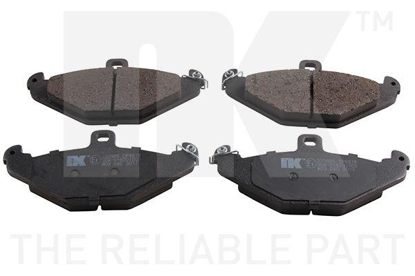 Achat de WVA20410148 NK contact de signal d'usure exclu, avec tôle anti-bruit, sans accessoires Hauteur 1: 58,8mm, Largeur 1: 126mm, Épaisseur 1: 14,8mm Kit de plaquettes de frein, frein à disque 223926 pas chères