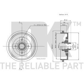 BF310 Bremstrommel DELPHI