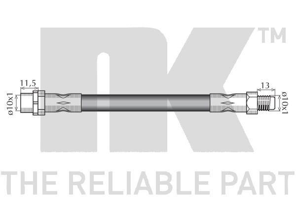NK | Flexible de frein 851522