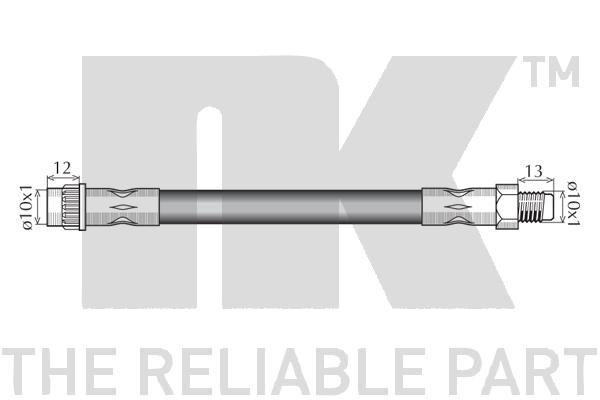 859955 Bremsschlauch NK - Markenprodukte billig