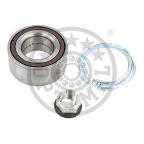 701247 OPTIMAL Front Axle, Left, Right, with integrated magnetic sensor ring Ø: 88mm, Inner Diameter: 45mm Wheel Bearing Kit 701247 cheap