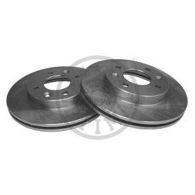 238X20 OPTIMAL Vorderachse, Innenbelüftet Ø: 238mm, Bremsscheibendicke: 20mm Bremsscheibe BS-0800 günstig kaufen