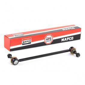 59664HPS MAPCO Framaxel, båda sidor L: 298mm Länk, krängningshämmare 59664HPS köp lågt pris