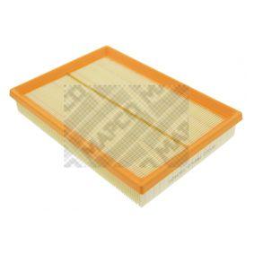 Pirkti 60023 MAPCO ilgis: 290mm, plotis: 206mm, aukštis 1: 43mm Oro filtras 60023 nebrangu
