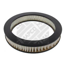60400 MAPCO Vložka filtru Výška: 51mm Vzduchový filtr 60400 kupte si levně