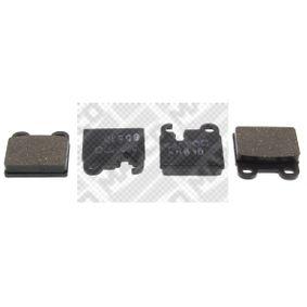 Brake Pad Set, disc brake 6134 for ALFA ROMEO 6 at a discount — buy now!