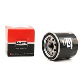 61557 MAPCO Filtro aparafusado Diâmetro interior: 54mm, Ø: 66mm, Altura: 65mm Filtro de óleo 61557 comprar económica