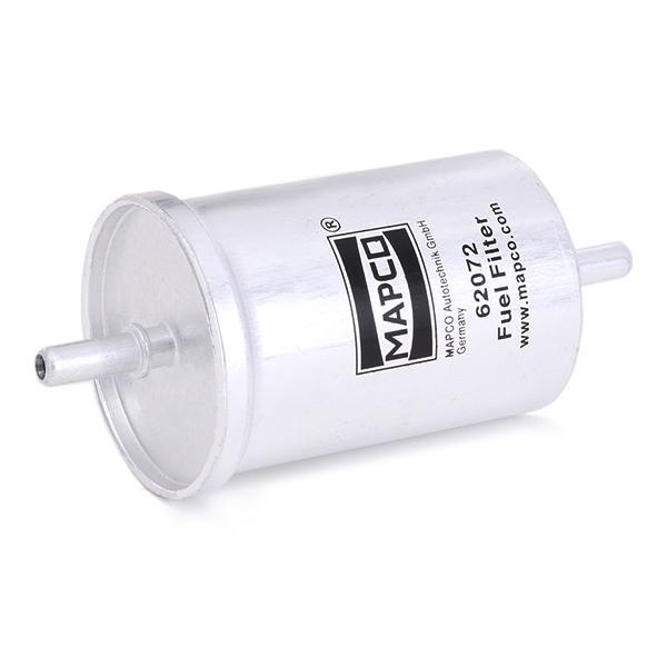 Osta 62072 MAPCO Ühendusfilter, Bensiin Kõrgus: 137mm Kütusefilter 62072 madala hinnaga