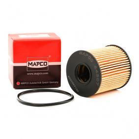 64307 MAPCO Filtereinsatz Innendurchmesser: 24mm, Ø: 64mm, Höhe: 69mm Ölfilter 64307 günstig kaufen