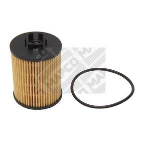 Achat de 64705 MAPCO Cartouche filtrante Diamètre intérieur: 9,5mm, Diamètre intérieur 2: 31mm, Ø: 62mm, Hauteur: 85mm Filtre à huile 64705 pas chères