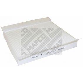 65608 Filter, kupéventilation MAPCO - Upplev rabatterade priser