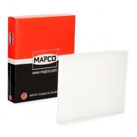 65715 MAPCO Pollenfilter Breite: 215mm, Höhe: 21mm, Länge: 265mm Filter, Innenraumluft 65715 günstig kaufen