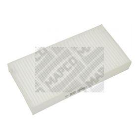 65812 MAPCO Pollenfilter Breite: 116mm, Höhe: 30mm, Länge: 229mm Filter, Innenraumluft 65812 günstig kaufen
