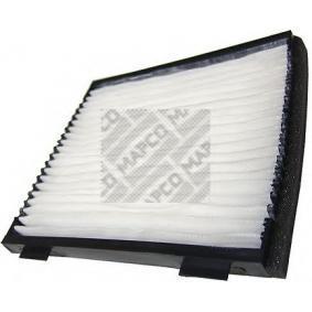 65841 MAPCO Pollenfilter Breite: 203mm, Höhe: 20mm, Länge: 223mm Filter, Innenraumluft 65841 günstig kaufen