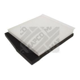 65852 MAPCO Pollenfilter Breite: 247mm, Höhe: 25mm, Länge: 277mm Filter, Innenraumluft 65852 günstig kaufen