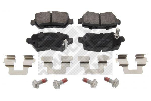 MAPCO 6609 Bremsbelagsatz Scheibenbremse