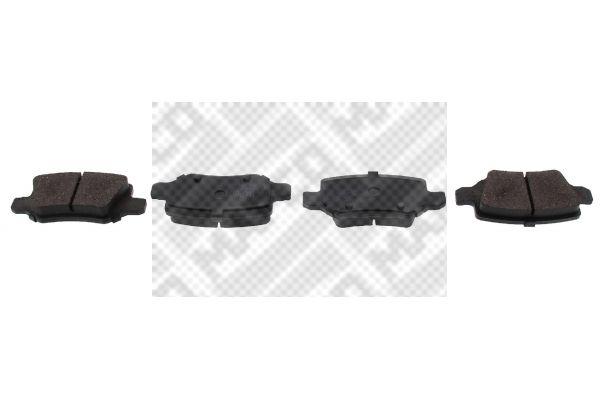 Bremsbelagsatz, Scheibenbremse MAPCO 6744 Bewertungen