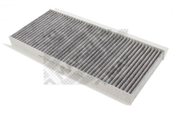 Купете 67602 MAPCO филтър с активен въглен ширина: 154мм, височина: 35мм, дължина: 345мм Филтър, въздух за вътрешно пространство 67602 евтино