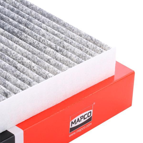67811 MAPCO Aktivkohlefilter Breite: 219mm, Höhe: 30mm, Länge: 278mm Filter, Innenraumluft 67811 günstig kaufen