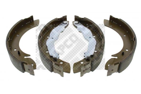 8815 MAPCO Hinterachse, mit Hebel Breite: 42mm Bremsbackensatz 8815 günstig kaufen