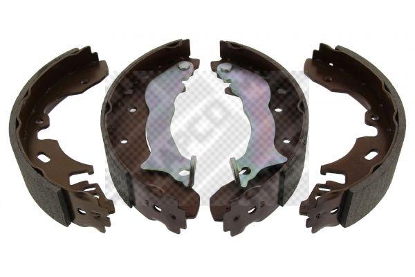 8819 MAPCO Hinterachse Breite: 45mm Bremsbackensatz 8819 günstig kaufen